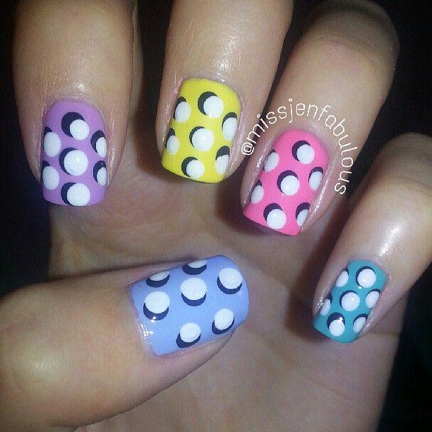 Mejores 14 imágenes de Nails en Pinterest | Arte sencillo de uñas ...