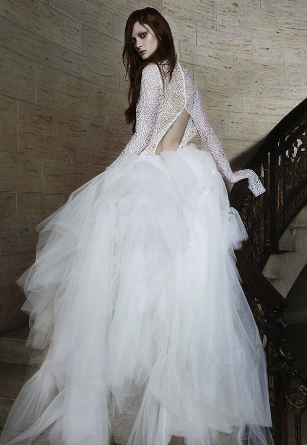 Are you a fan of Vera Wang's edgy spring 2015 bridal collection?