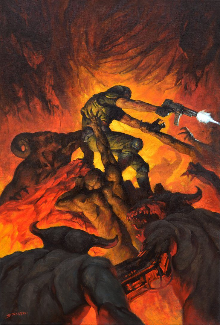 Doom by SidharthChaturvedi on DeviantArt