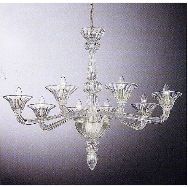 Murano glass chandelier myran allen