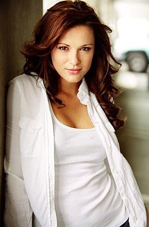 Danneel Harris Ackles i.e. Mrs. Jensen Ackles. Beautiful lady. She and Jensen are the cutest.
