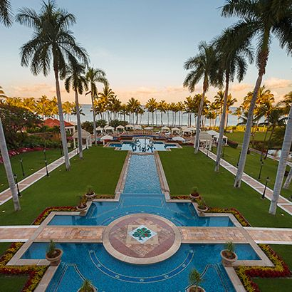 this would be such a cool spot for a wedding reception luxury resort maui - The Destination A Luxury Resort