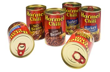 Hormel Chili with Beans is gluten free-send with kids to camp for an easy meal