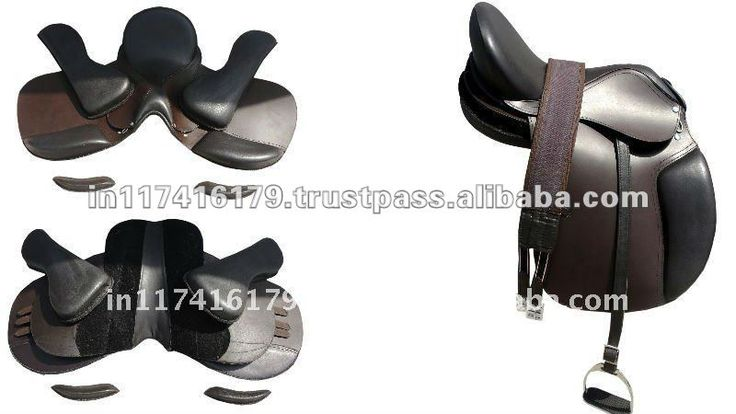 Leather Treeless Saddle Find Complet...