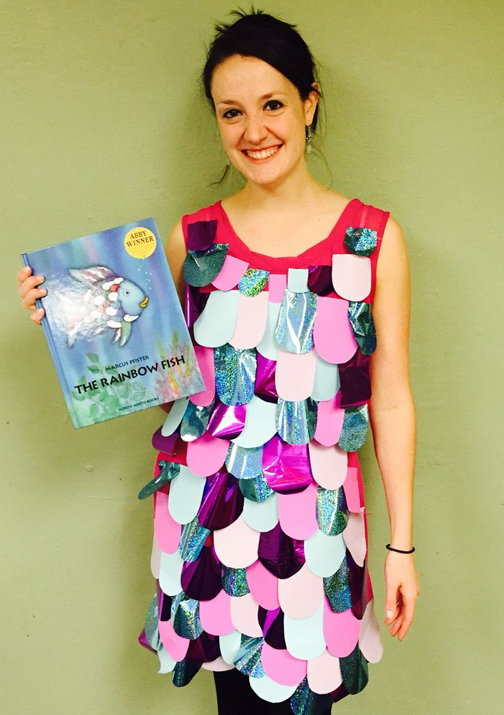 Rainbow Fish for storybook character dress up day!