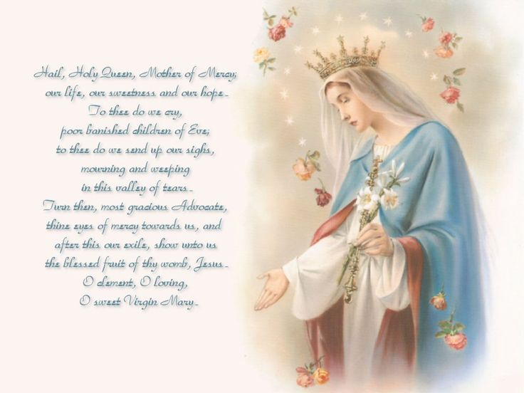 blessed mother prayers - Google Search
