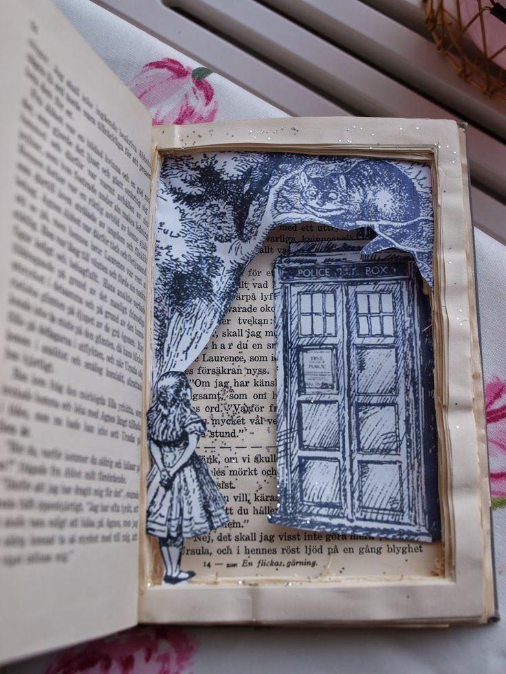 Bok som kommer till liv av Jenny på En vintage saga