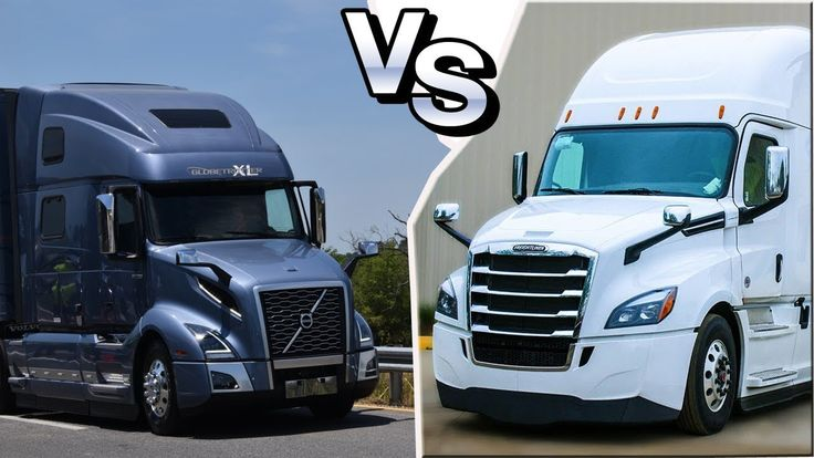 Американские грузовики || VOLVO vnl 2018 vs Freightliner Cascadia 2018