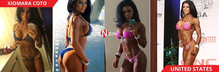 The beautiful and fit with Xiomara Coto #fitnessmodel #fitness #bikini #healthy #girl #ifbb
