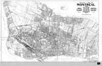 Cartes de Montréal, 1959; les ruisseaux et fossés