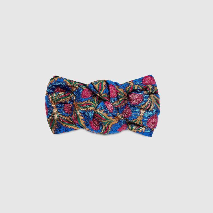 GUCCI Floral Jacquard Headband - Floral Jacquard. #gucci #all