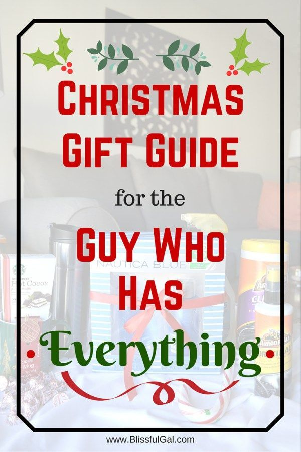 Christmas gift guide for the guy who has everything lost for What to get husband who has everything for christmas