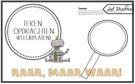 Kinderboekenweek 2015: vier tekenopdrachten