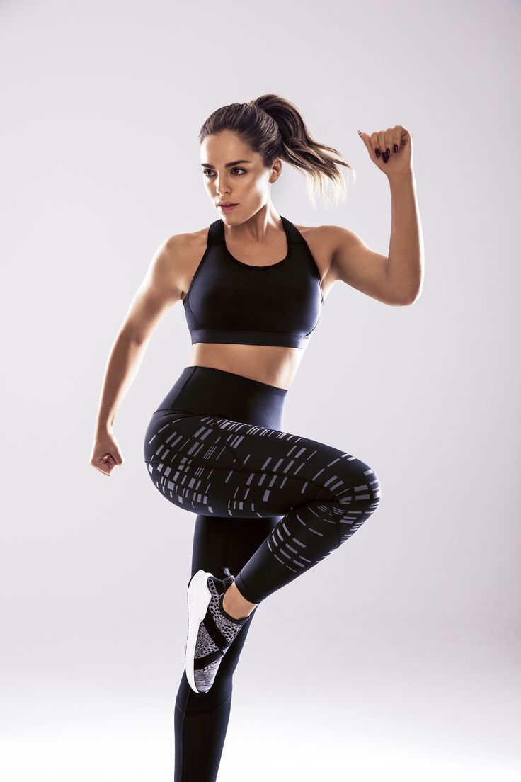 Olympia Valance getting into gear with Nancy's Activewear range