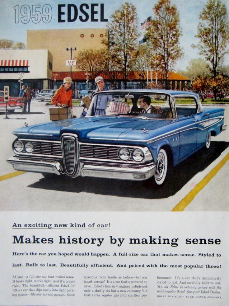 48 best Classic Auto Ads - ACTORTEAM images on Pinterest   Vintage ...
