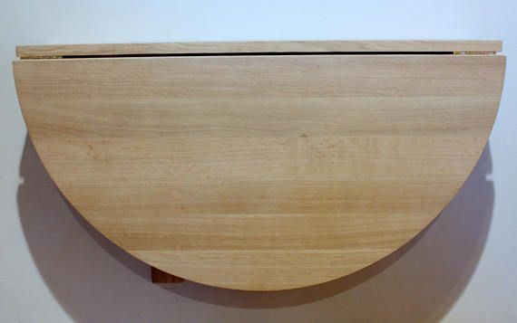We Offer You Ours Wall Mounted Drop Leaf Table Such A Wooden Half Round Fold Down Desk Is A Perfect Solut Wall Mounted Table Drop Leaf Table Wall Mounted Desk