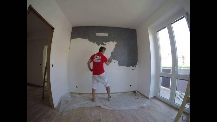 Jak aplikovat CADORO od San Marca na starou zeď