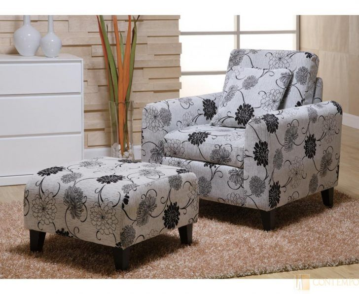 Chairs Oversized Chair And Ottoman Set Walnut Fabric Living Room ...
