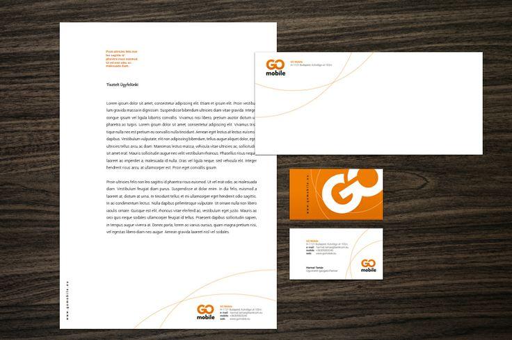 GO Mobile identity design by @Dekoratio Brand Studio