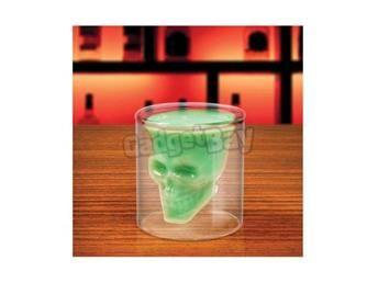 Döskalle glas.   Death head glass.