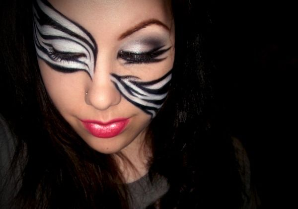 Best 20 Zebra Makeup Ideas On