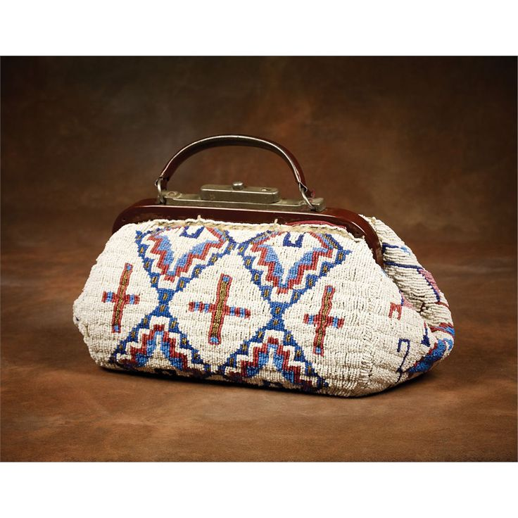 Sioux Beaded Doctor's Bag - High Noon Western Americana