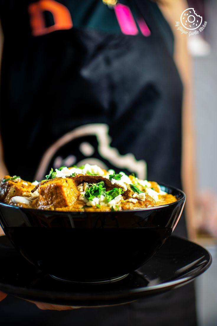 paneer lababdar recipe recipe in 2020 paneer paneer lababdar spicy gravy on hebbar s kitchen recipes paneer lababdar id=23083