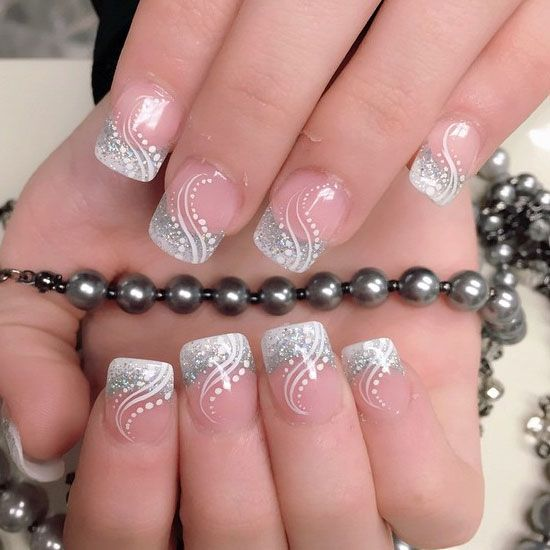 47 Best Cute Nails Images On Pinterest Nail Scissors Christmas