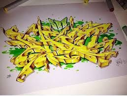 Image result for graffiti alphabet wildstyle