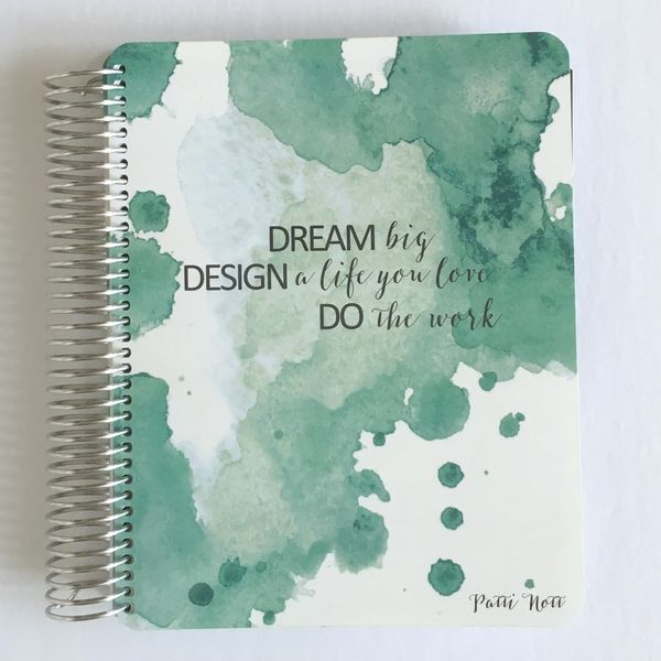 Our flagship planner was designed with you, the entrepreneur, in mind!  Flexibility paired with form and function, sprinkled with a dash of inspiration and colour. Structured enough to help guide you through your best year yet but flexible enough to accommodate your personal preferences...you can even personalize it with your name.