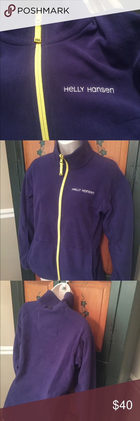 Helly Hansen Sz Sm Awesome fleece jacket. Lightweight like new.  Great for the slopes Helly Hansen Jackets & Coats