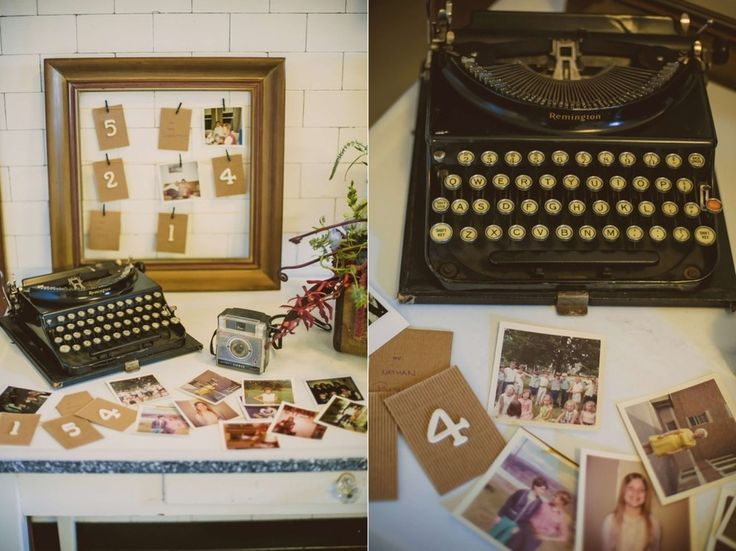 This Wes Anderson-Themed Wedding Is Unbearably Charming (also love the table numbers)
