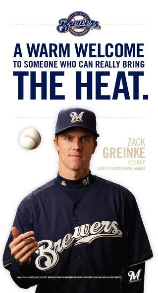 Brewers acquire Zack Greinke, 12/2010