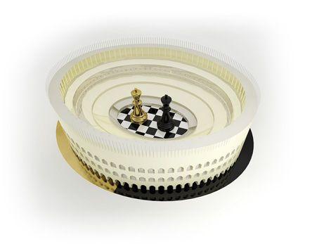 #Premium#Chess - Play chess online #illustration #3Dartwork #3Ddesign #chess #LikeableDesign ♕ ♔ ♖ ♗ ♘ ♙