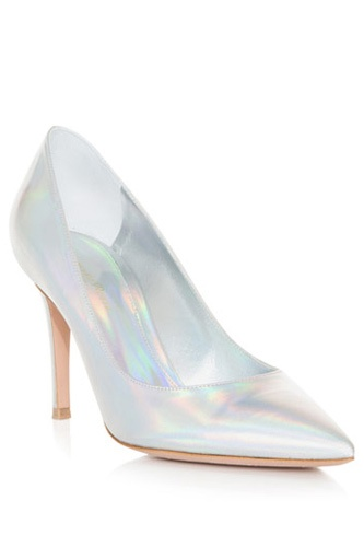 Shine on in 11 party-ready pairs of metallic shoes!