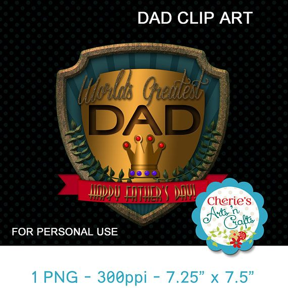 Father's Day Graphic  Father's Day Clip Art  For