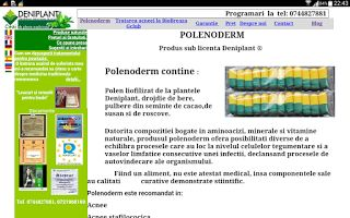 PSORIAZIS-CORESPONDENTA  DENIPLANT: Hidrosadenita tratata cu polenoderm si imuniplant