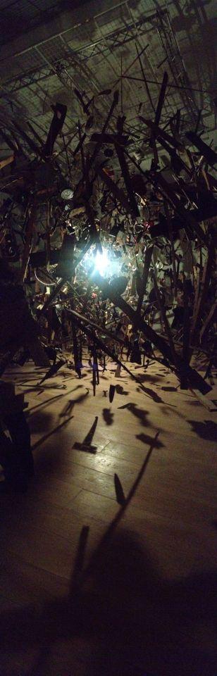 Whitworth Art Gallery opens with Cornelia Parker show - Cold Dark Matter