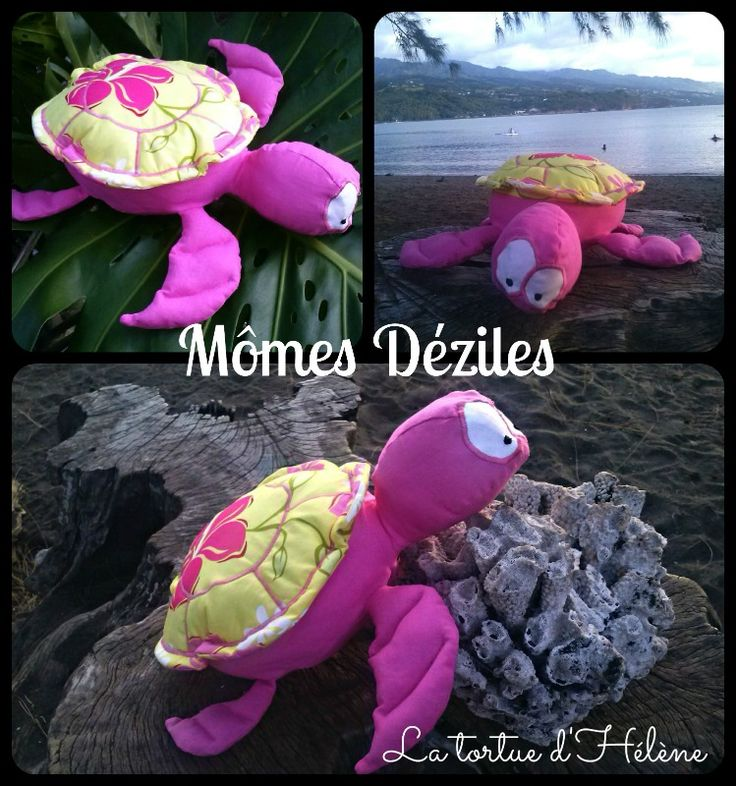 tortue, tortue de mer, peluche tortue, doudou tortue, turtle, couture pour enfant, sewing, sewing for kids, Mômes déziles