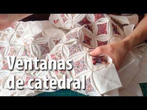 Crear un motivo de molinillos para una colcha de patchwork - YouTube