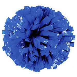 Solid Color Plastic Show Pom by Cheerleading Company