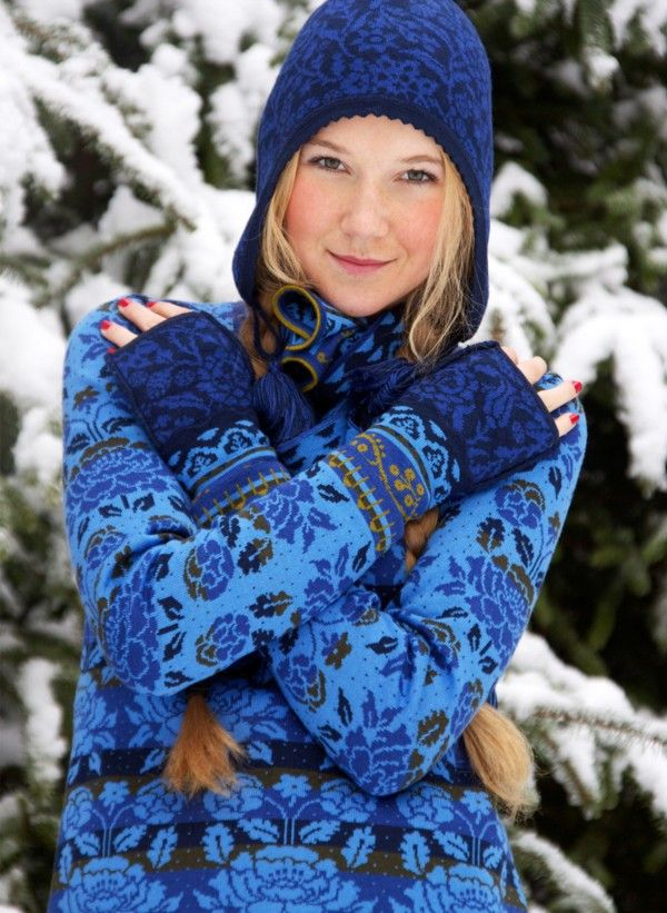 Nordic beauty (the outfit is pretty cute too!)