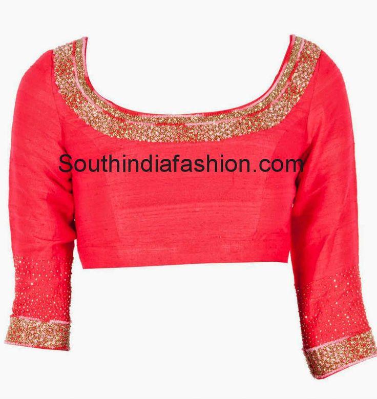 últimos modelos blusa sari