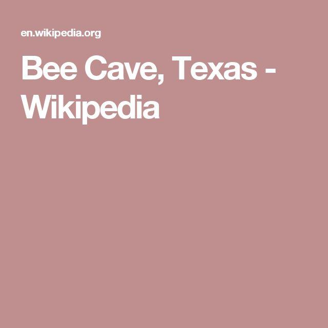 Bee Cave, Texas - Wikipedia