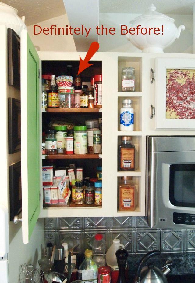 10 Spice Cupboard Organization Ideas A Cultivated Nest