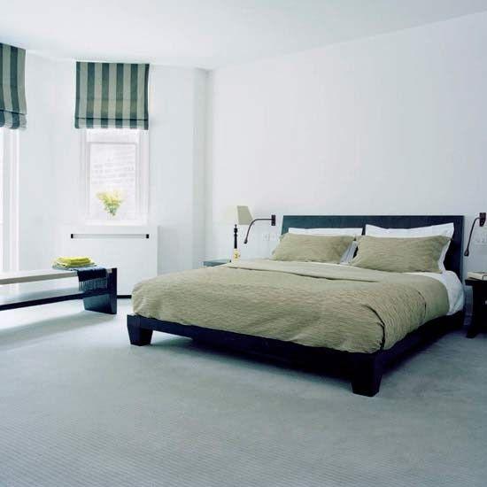 Tranquil bedroom | Modern bedroom designs | Blinds | housetohome.co.uk