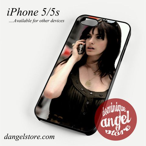 Anna Hathway on the phone Phone Case for iPhone 4/4s/5/5c/5s/6/6s/6 Plus