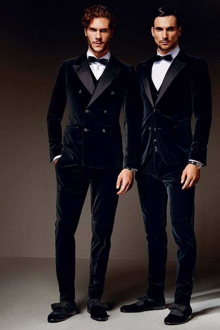 Tom Fords take on the smoking jacket in a tuxedo form