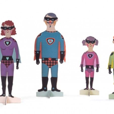 Paper family from Londji