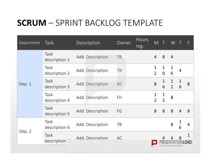 68 best images about scrum powerpoint templates on pinterest um charts and tool box. Black Bedroom Furniture Sets. Home Design Ideas
